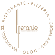 Geranio Sicilian Food & Drink – Noto (siracusa) Logo